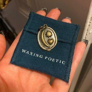 Waxing Poetic Pendant